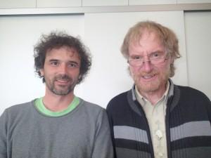 Andreas Grathwohl mit Bernhard Jaesch