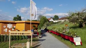 Immer einen Besuch wert: unser Imkerpavillon auf der Landesgartenschau
