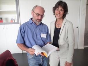 Renate Frank mit Christoph Soter