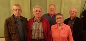Werner Wieland, Erich Wieland, Hermann Eckert, Karin Laute, Albert Klaus